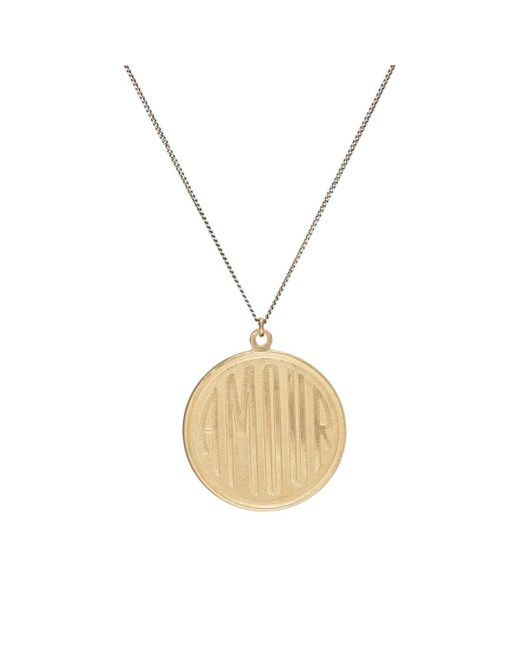 Julie Wolfe | Metallic amour Pendant Necklace | Lyst