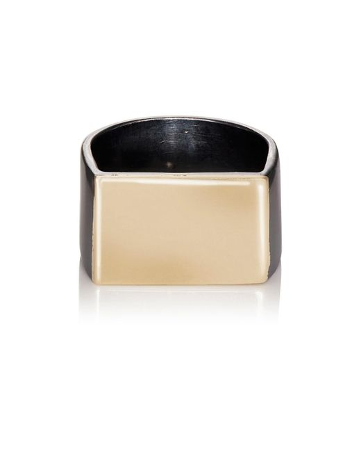 Loren Stewart - Metallic Flat Id Ring for Men - Lyst