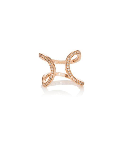 Dauphin   Metallic Small Serpentine Cuff Ring   Lyst