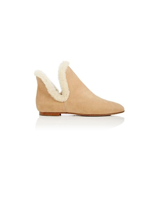 The Row - Natural Shearling - Lyst