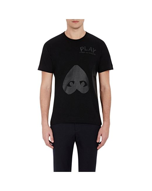 Play Comme des Garçons | Black Heart-graphic T for Men | Lyst