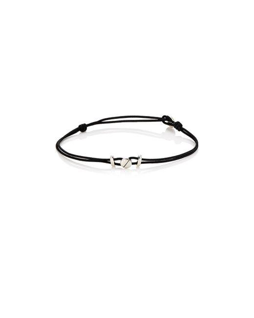 Zadeh - Black Screw Bracelet for Men - Lyst