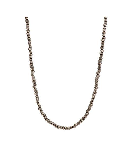M. Cohen | Metallic Imperial Necklace for Men | Lyst