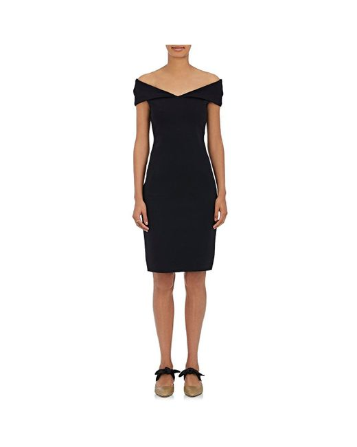 The Row - Black Delmi Neoprene Off-the - Lyst