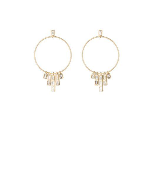 Ileana Makri | Metallic Pyramid Earrings | Lyst