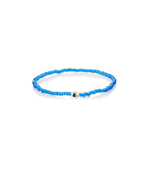 Luis Morais - Blue Palm Tree Etched - Lyst