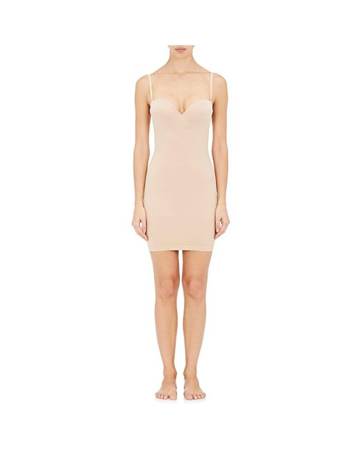 Wolford | Natural Opaque Naturel Forming Dress | Lyst