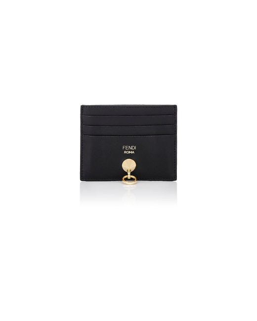 Fendi - Black Abclick Card Case - Lyst