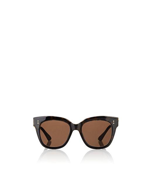70dae345c675 Dita - Brown Day Tripper Sunglasses - Lyst ...