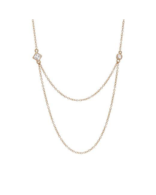 Loren Stewart - Metallic Draper Necklace - Lyst