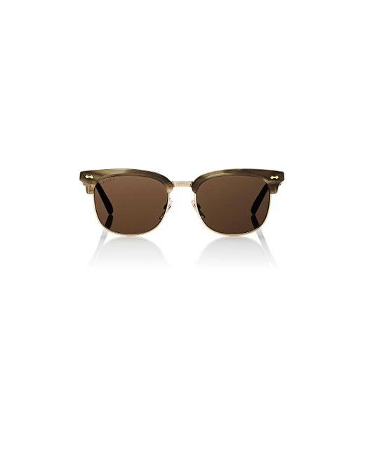 Gucci | Brown 0051s Sunglasses | Lyst