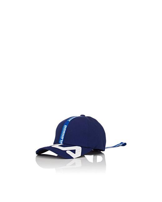 D-ANTIDOTE - Blue Cotton Twill Baseball Cap - Lyst