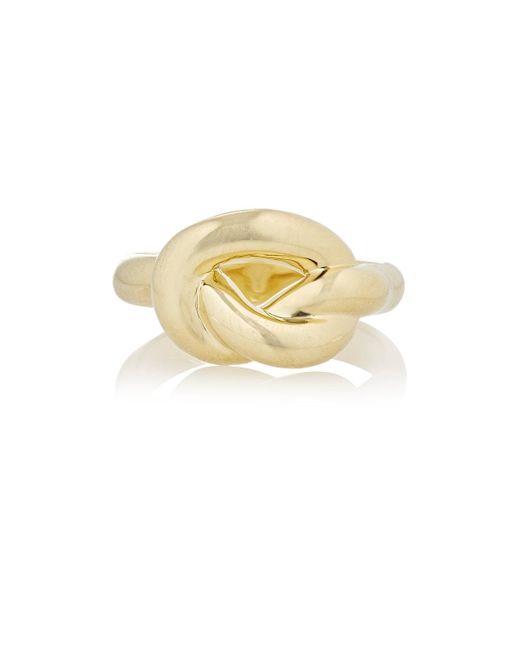 Finn | Metallic Jumbo Love Knot Ring | Lyst