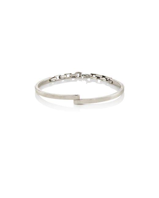 Title Of Work | Metallic Hinged Cuff Bracelet | Lyst