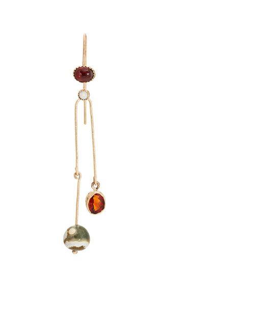 Julie Wolfe   Metallic Mixed-gemstone Triple   Lyst