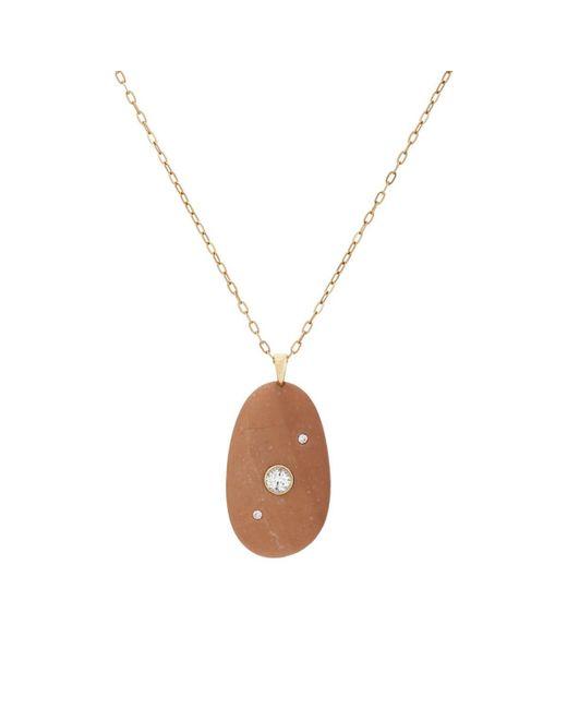 Cvc Stones - Metallic Ruddy Pendant Necklace - Lyst