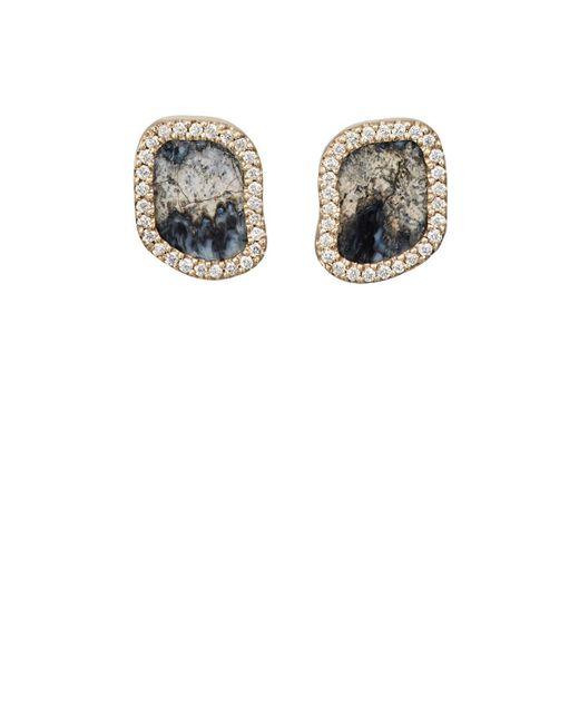 Monique Péan - Metallic White Diamond & Woolly Mammoth Tooth - Lyst