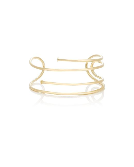 Jennifer Fisher - Metallic Large Pipe Choker - Lyst