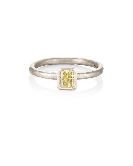 Malcolm Betts - Yellow Diamond Ring - Lyst