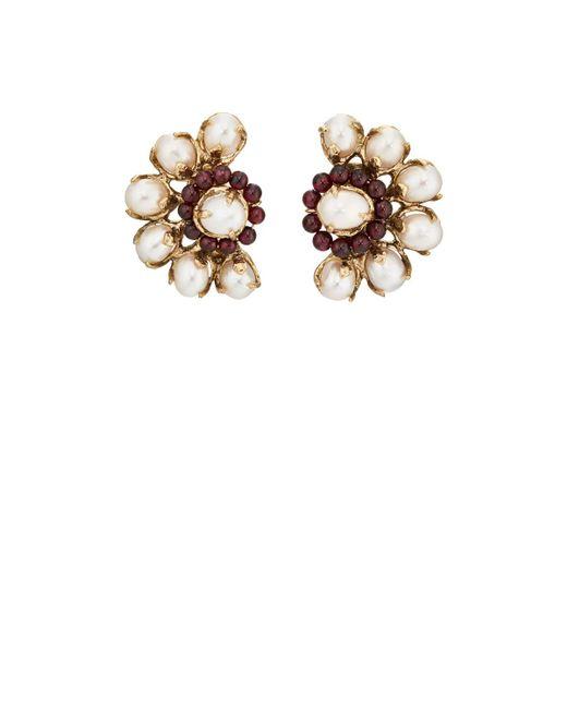 Goossens Paris | White Baroque Pearl Clip | Lyst