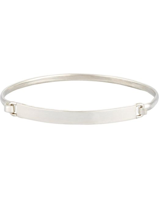 Loren Stewart | Metallic Id Bracelet for Men | Lyst