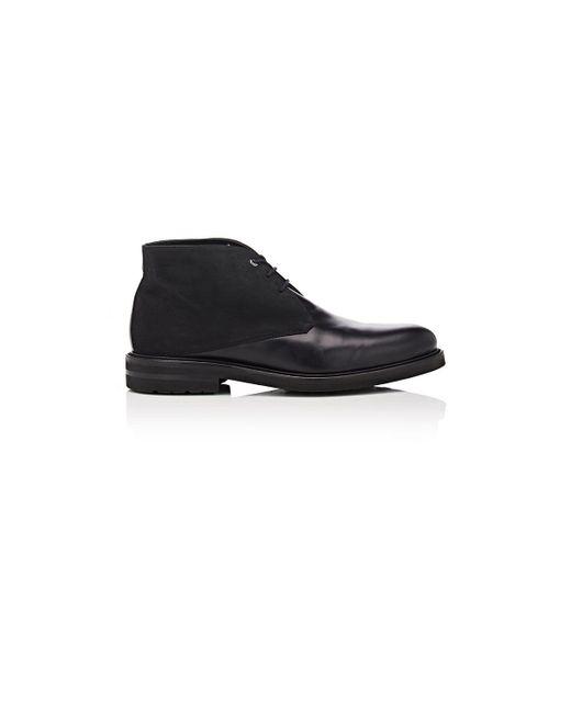 Want Les Essentiels De La Vie | Black Stewart Leather & Nubuck Chukka Boots for Men | Lyst