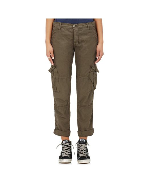 NSF - Green Basquiat Cotton Cargo Pants - Lyst