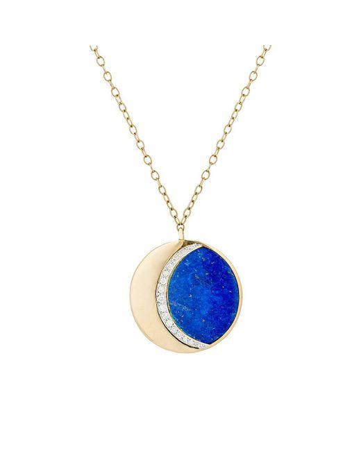 Pamela Love | Blue Moon Phase Pendant Necklace | Lyst