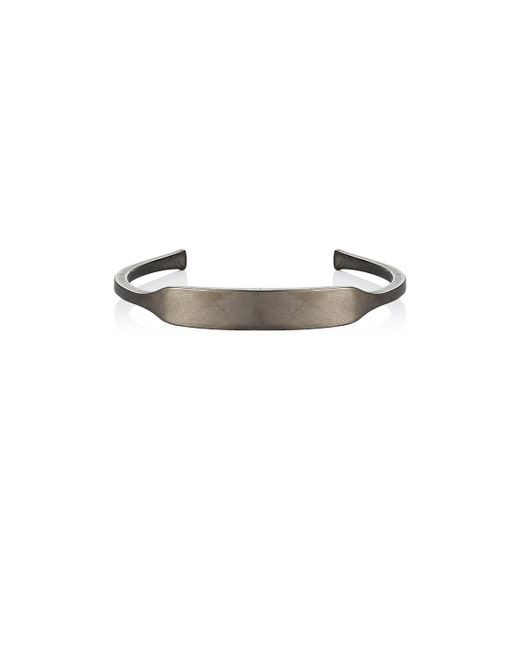 Giles & Brother | Gray Id Cuff for Men | Lyst