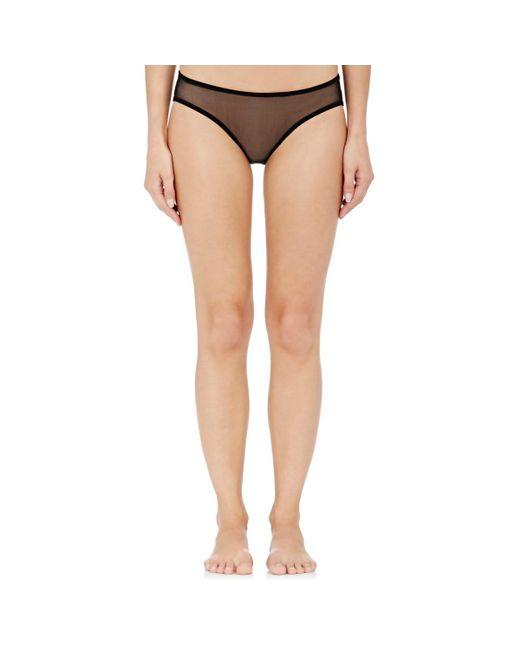 Eres - Black Tulle Bambin Bikini Briefs - Lyst