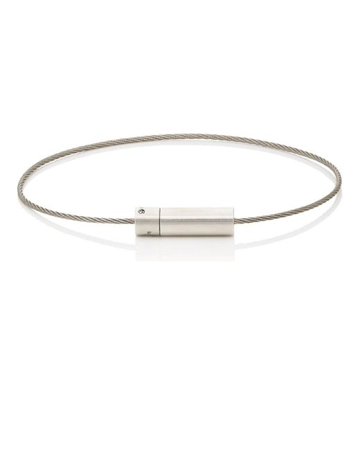 Le Gramme - Metallic Le 5 Cable Bracelet for Men - Lyst