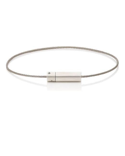 Le Gramme - Metallic Le 5 Cable Bracelet for Men - Lyst