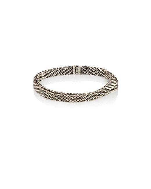 Title Of Work - Metallic Double-wrap Bracelet for Men - Lyst