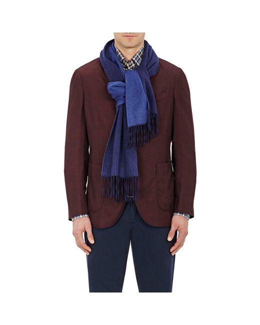 Barneys New York - Blue Contrast for Men - Lyst