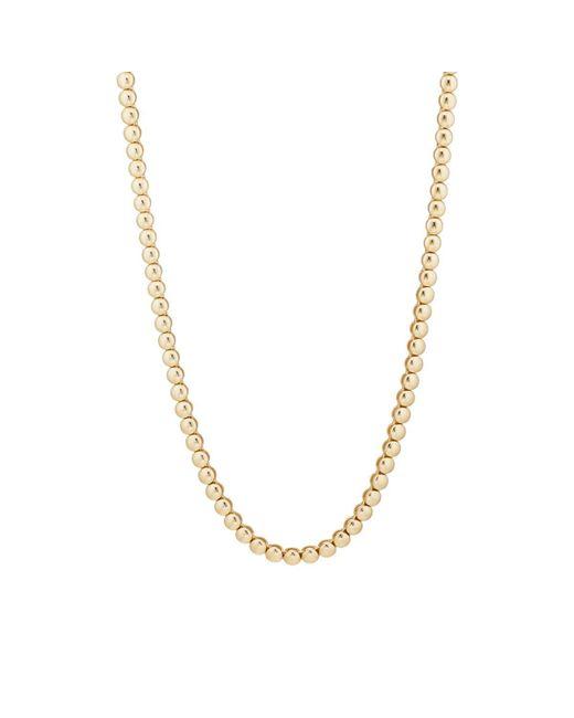 Jennifer Meyer - Metallic Mini Bezel Tennis Necklace - Lyst