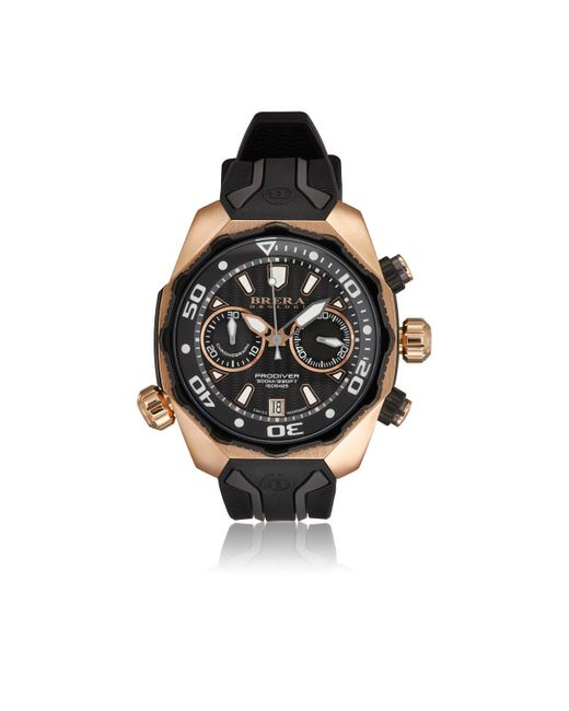 Brera Orologi - Black Prodiver Watch for Men - Lyst
