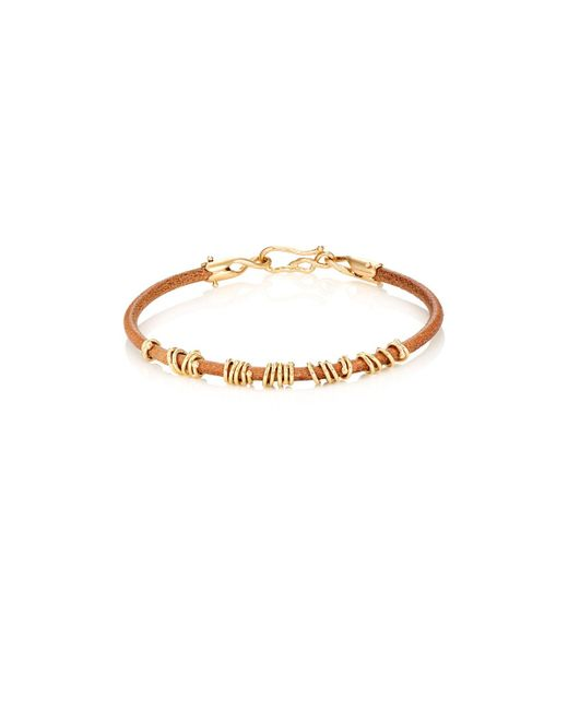 Dean Harris | Yellow jump Ring Bracelet | Lyst