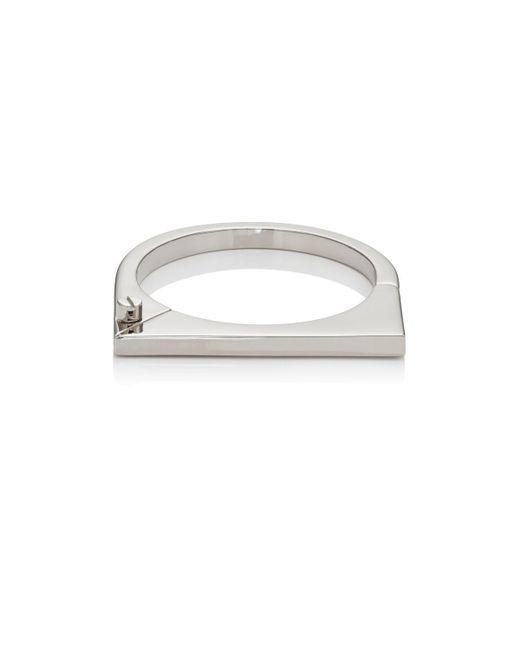 Miansai - Metallic Modern Flat Cuff Bracelet - Lyst