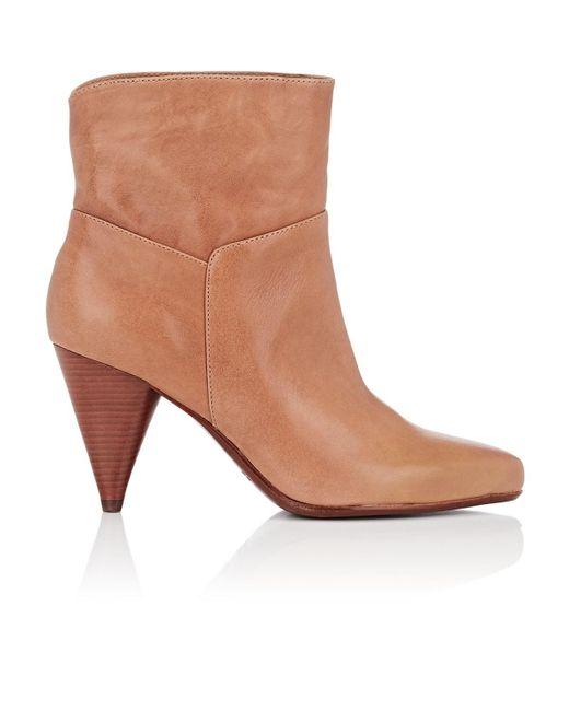 10 Crosby Derek Lam - Brown Dannie Leather Ankle Boots - Lyst