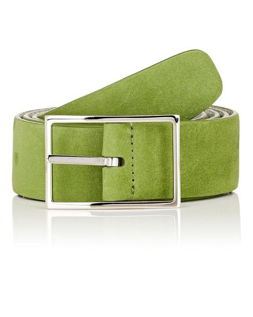 Simonnot Godard - Gray Reversible Leather Belt for Men - Lyst