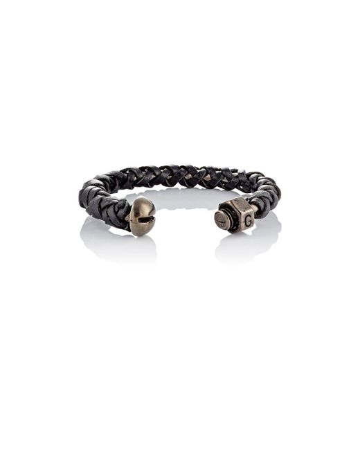 Giles & Brother | Gray Nut & Bolt Cuff | Lyst