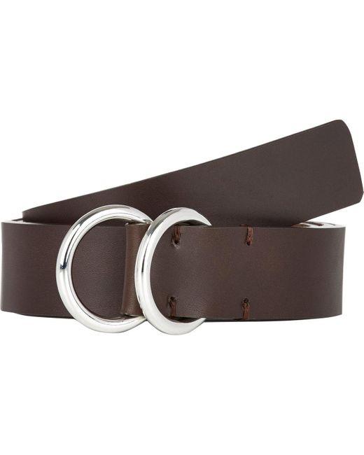 Barneys New York | Brown Men's Smooth Leather Belt for Men | Lyst