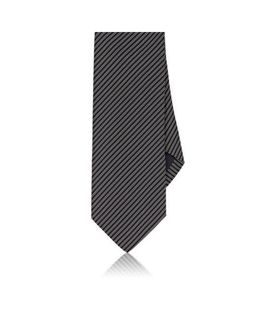 Drake's | Blue Pinstriped Silk Necktie for Men | Lyst