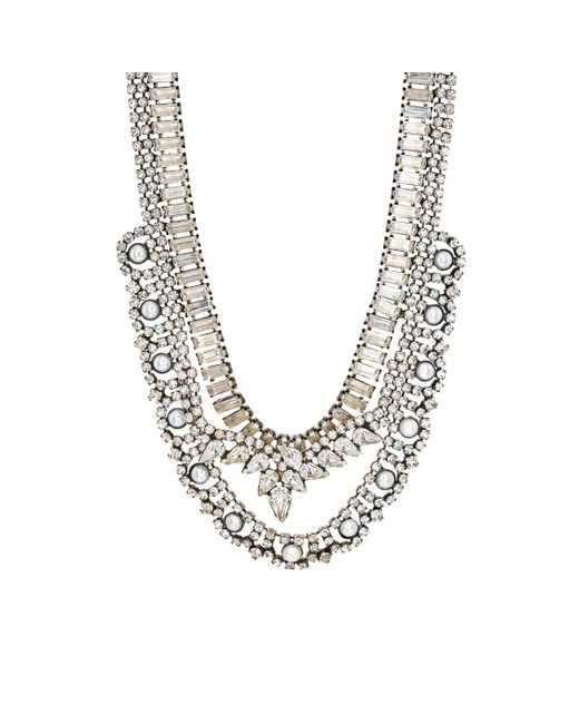 DANNIJO | Metallic Risley Collar Necklace | Lyst