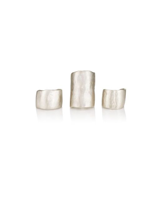 Simon Miller - Metallic Ogee Ring Set - Lyst