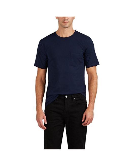 Zadig & Voltaire Blue Tom Cotton Short-sleeve T-shirt for men