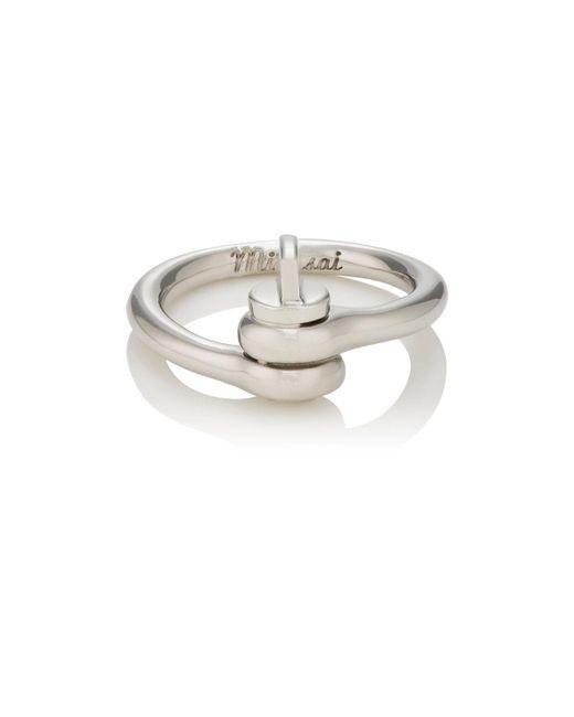Miansai   Metallic Thin Reeve Ring   Lyst