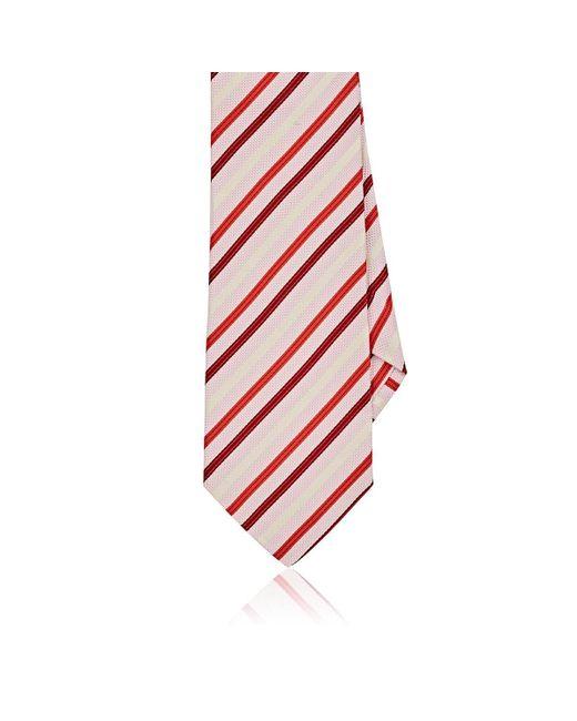 Etro | Pink Striped Silk Necktie for Men | Lyst