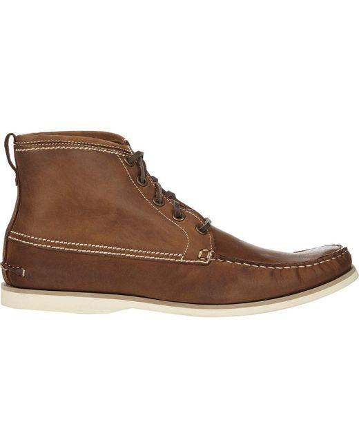 John Varvatos | Brown Star Clipper Boots for Men | Lyst