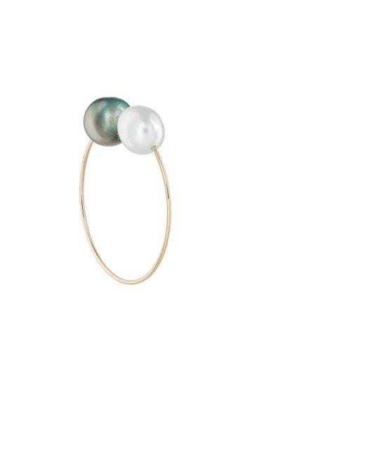 Hirotaka - Metallic Pearl & Yellow Gold Ear Cuff - Lyst
